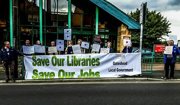 library-protest